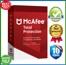 McAfee Total Protection 2020 unlimited Devices / 10Year