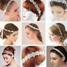 8 Sizes Crystal Rhinestone Bride Bridesmaid Wedding Prom Headband Hairband Tiara