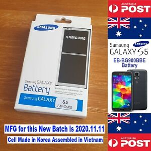 GENUINE Retail Samsung S5 Battery I9600 EB-BG900BBE with NFC - Local Seller !