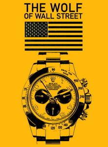 "207 Leonardo DiCaprio - The Wolf of Wall Street Movie Star 14""x18"" Poster"
