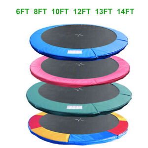 6 8 10 12 13 14FT Trampoline Replacement Pad Spring Cover Surround Foam Padding