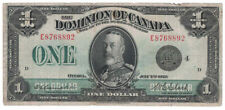 Dominion of Canada - 1923 One Dollar Banknote (P-33o)