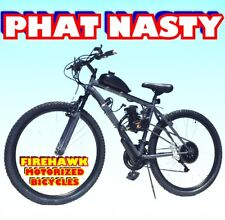 USA SELLER 2018 PHAT NASTY FAT TIRE GAS MOTOR BIKE BICYCLE 50 CC SCOOTER MOPED