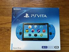 NEW Sony PlayStation Vita Sapphire Blue Handheld System PCH-2001 *US VERSION*
