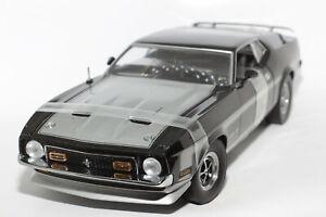 1:18 Ford Mustang Mach 1 (1971–1973)   schwarz   SunStar   Modellauto Musclecar