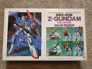🌟Bandai Vintage 1/100 No.25 Full Action Model Zeta Z-Gundam MS-006 Wave Rider