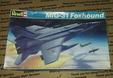 VINTAGE 1989 REVELL MiG-31 FOXHOUND FIGHTER PLANE 1:72 MODEL KIT-NEW & SEALED-