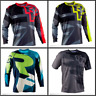 New Race Face Mountain Bike Downhill Dirtbike MX ATV Riding Gear Mens Jersey N1