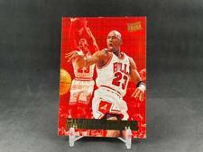 1995-96 FLEER ULTRA BASKETBALL MICHAEL JORDAN #3 DOUBLE TROUBLE INSERT BULLS