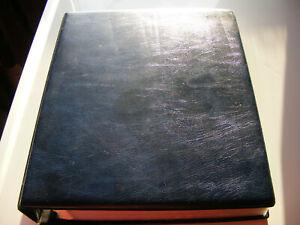 Australia Britannia Range Ringed Binder Album 158 Pages  1913 to 1999  NO STAMPS