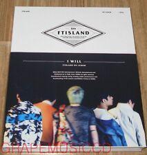 FTISLAND FT ISLAND 5TH ALBUM I Will K-POP CD + PHOTOCARD SEALED