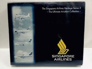 Herpa Singapore Airlines Heritage Series 2 Essential Model Col 1:500 510806