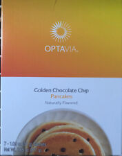 MEDIFAST OPTAVIA Golden Chocolate Chip Pancakes 7 Packets  New