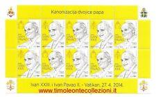 Croazia Croatia  Canonizzazione Giovanni Paolo II e Giovanni XXIII