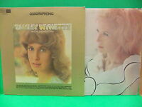 Tammy Wynette 2 LP LOT We Sure Can Love Each Other Quadraphonic, Greatest Hits