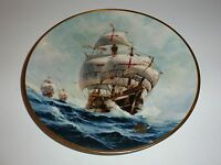 "W.L. George Columbus Discovers America ""Full Sail"" Collector Plate, 1992"