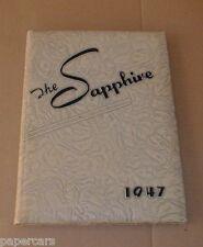 1947 Fassifern High School For Girls Hendersonville NC North Carolina Yearbook