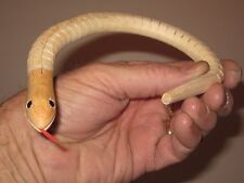 """Wooden Wiggle Snake 12"""" Long - Children,s Classic Toy, Paint, Arts & Crafts, DIY"""