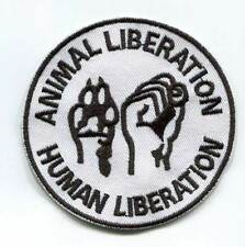 ANIMAL LIBERATION WHITE PATCH (MBP 208)