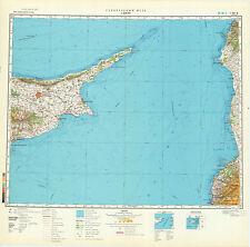 Russian Soviet Military Topographic Maps - CYPRUS island 1:500 000, ed. 1981