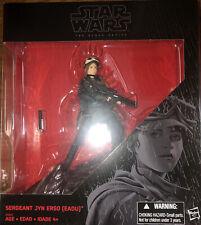 NEW Star Wars Rogue One - Sergeant Jyn Erso (EADU) Black Series K-Mart Exclusive