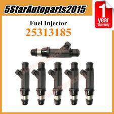 6 x Fuel Injector 25313185 for Chevy Trailblazer GMC Isuzu Oldsmobile Buick 4.2L