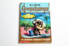 Vintage Goosebumps #38 The Abominable Snowman of Pasadena (1st Print)