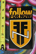 FFN Follow For Now Punk Black Rock Tower Records Georgia M1 MISC MUSIC STICKER