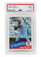 Kirby Puckett Minnesota Twins 1985 Topps Baseball #536 RC Rookie Card PSA 9 MINT