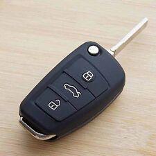 Black car key fob cover case for Audi A1 A2 A3 A4 A5 A6 A7 TT Q3 Q5 Q7 R8 S6 S7