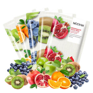 Moisturising Korean Hydrating Facial Sheet Skin Care All Natural Vegan