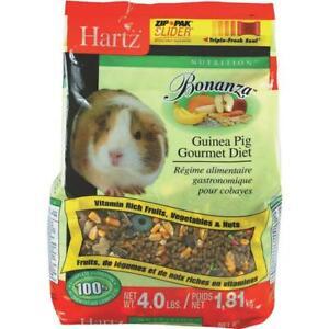 Hartz Bonanza Gourmet Diet 4 Lb. Guinea Pig Food 2 pk