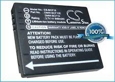 3.7V battery for Panasonic CGA-S009E, Lumix DMC-FX66P, CGA-S009, CGA-S/106B NEW