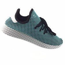 Adidas CQ2623 Deerupt Runner Parley Running Blue Black Green Mens 10 M Shoes R19