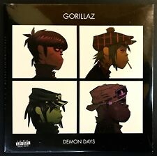 GORILLAZ Demon Days SEALED 2005 UK PARLOPHONE FIRST PRESSING 2LP Vinyl Blur