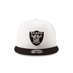 New Era 9Fifty White/Black NFL Las Vegas Raiders 2Tone Basic Snapback (11872958)