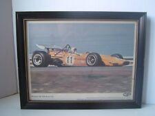 Vintage McLaren M-14A Ford V8 11 Players Grand Prix F1 Formula One Framed Print
