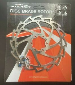 ALLIGATOR Wind Cutter Disc Brake Rotor 160mm - Color: Silver