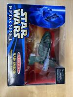 Star Wars Ep 1 - FLASH SPEEDER w/Naboo Royal Guard - Action Fleet Micro Machines