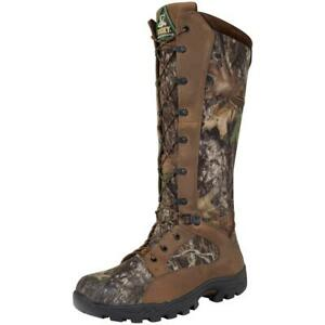New Rocky Mens 16 Prolight Waterproof Snake Boots Mossy Oak