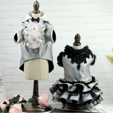 Lace Dog Dress Suit Male Clothing For Dogs Cat Pet Wedding Dog Clothes Breading