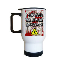 I Survived The Zombie Apocalypse Travel Mug | Zombies | The Walking Dead | Funny