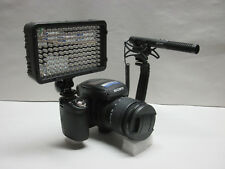 Pro AX100 AZ SM-2L A4 stereo mic video light for Sony AX100 AX53 AX33 CX900