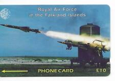 RARE / CARTE TELEPHONIQUE - RAF GUERRE ARMEE ARMY : MISSILE WAR / PHONECARD