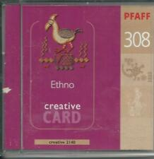 Pfaff Creative Card 308 for 2140, 2144, 2170  Embroidery Designs 92-330010-33