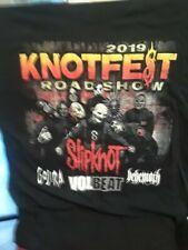 Slipknot Knotfest 2019 T-shirt (XL)