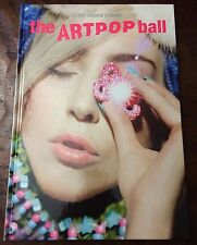 Lady Gaga - The Artpop Ball Tour Book - Hardcover Edition NEW