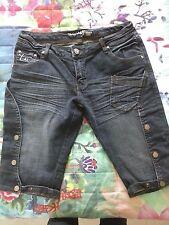pantaloni donna tg.40 bermuda  jeans nuovo marca TAGLIA42 offerta