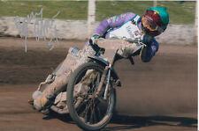 BYRON Bekker mano firmato Scunthorpe SCORPIONI Speedway gioco 6x4 Foto 4.