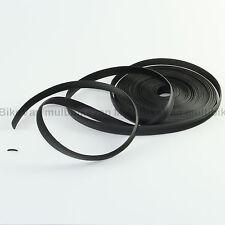 Abdeckprofil schwarz 10m Kederschiene Abdeckgummi 12mm Füllprofil Leistenfüller